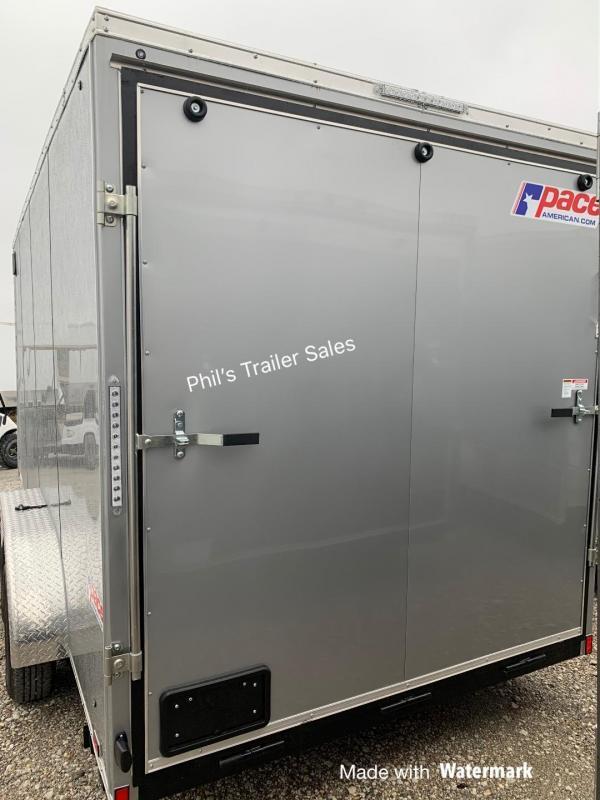 Pace American 7X16 SE 7 FT INTERIOR  Enclosed Cargo Trailer