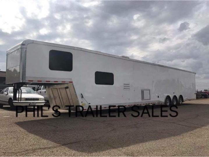 50' Continental Cargo Living Quarters Car / Racing Trailer