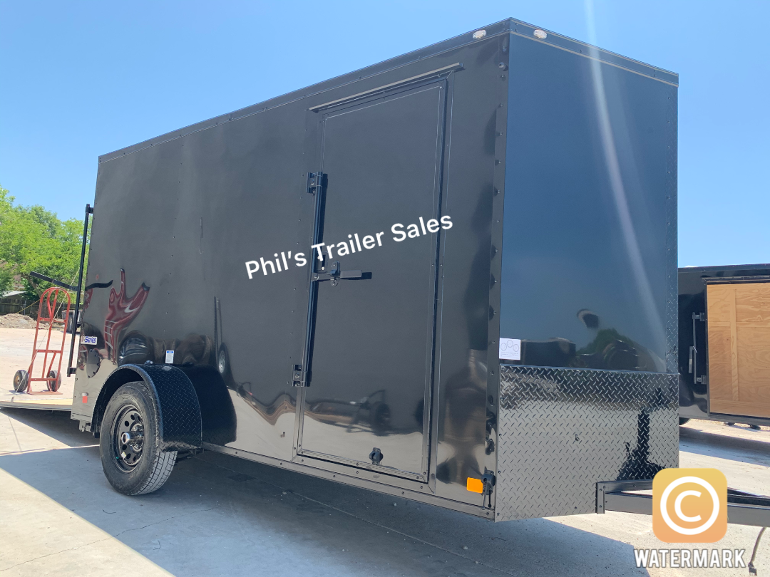 2021 Continental Cargo 6X12 BLACKOUT  Enclosed Cargo Trailer
