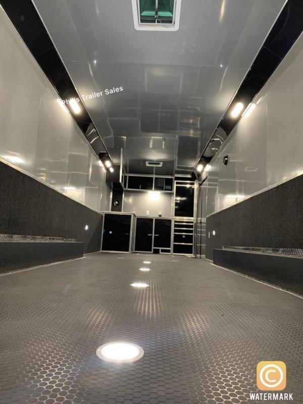 24 Haulmark EDGE PRO Car / Racing Trailer LOADED