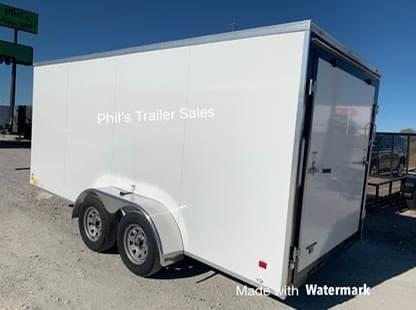 2021 Forest River STEEL MOD DOUBLE DOOR  Enclosed Cargo Trailer