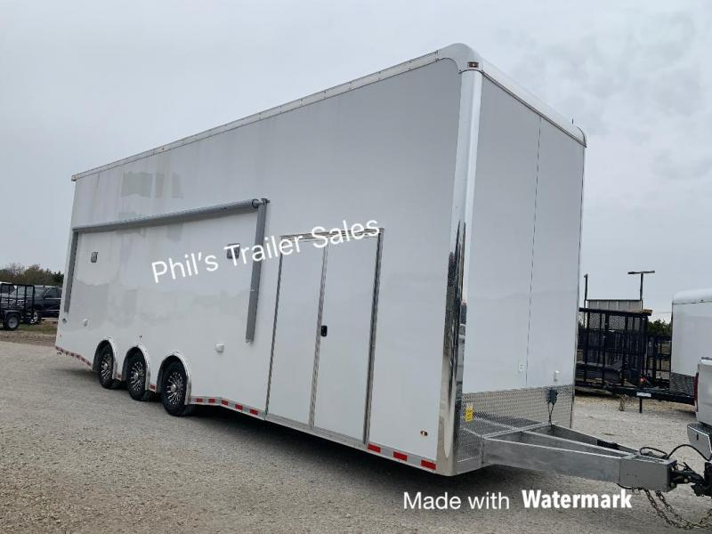 Haulmark  ALL ALUMINUM  ALX STACKER Car / Racing Trailer