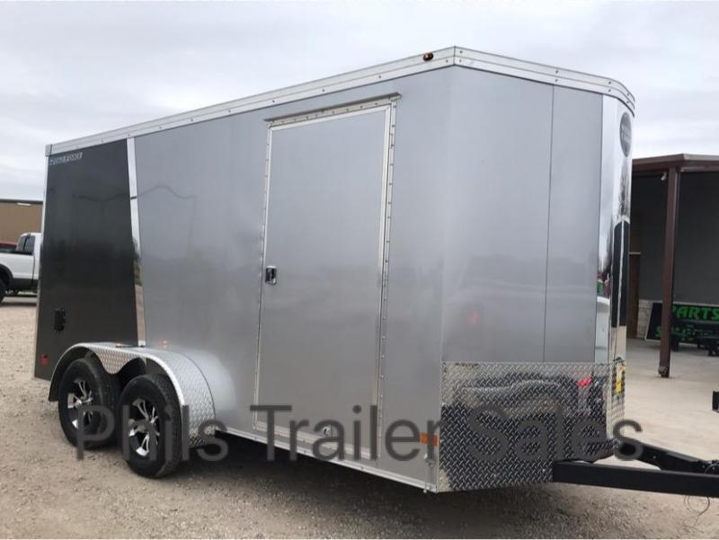 Wells Cargo 7X14 2 TONE ALUMINUM ROOF   Enclosed Cargo
