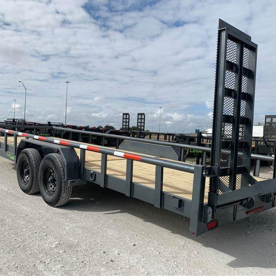 2021 Legacy EQUIPMENT  TRAILER 83X24 14K