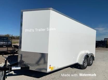 2021 10 YEAR  STEEL MOD Enclosed Cargo Trailer 7X14