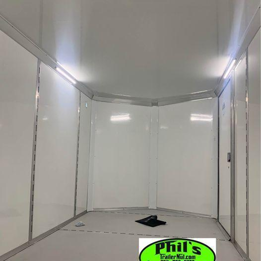 2021  7x14 10 YEAR  STEEL MOD Enclosed Cargo Trailer 7X14