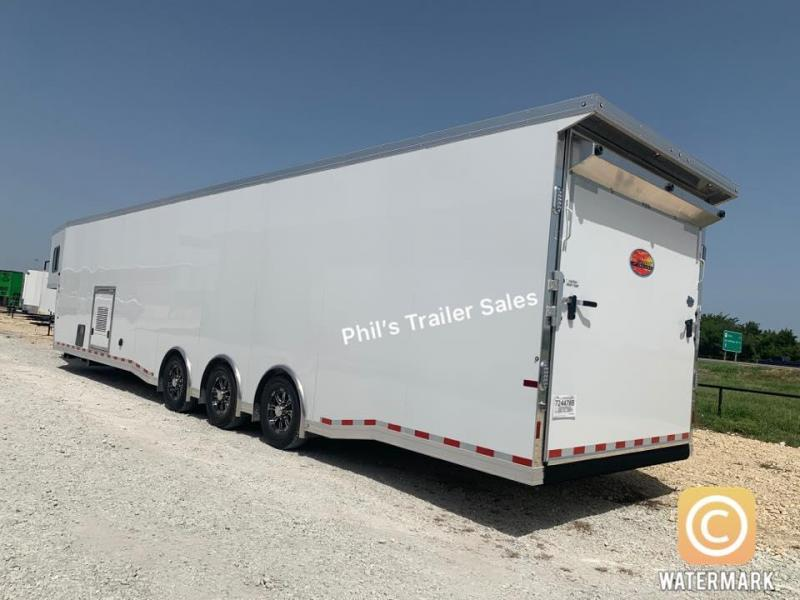 2021 44'  Sundowner Trailers BATHROOM Car / Racing Trailer