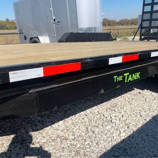 "2021 Legacy 83X20 EQUIPMENT HAULER "" THE TANK"" Equipment Trailer"
