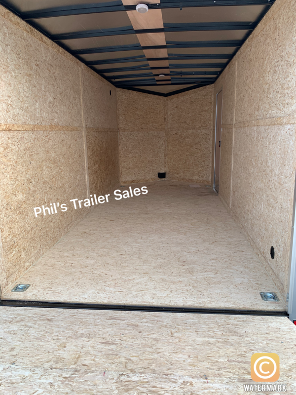 6X12 + 2 v nose  Pace 6'6' interior Cargo / Enclosed Trailer
