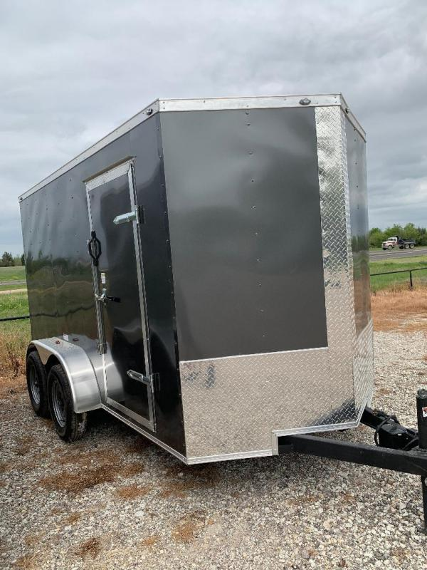 6X12 TANDEM   Enclosed trailer cargo trailer