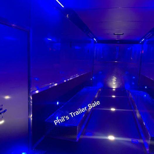 2022 Continental Cargo 32' ENCLOSED TRAILER RAMP OVERS Car / Racing Trailer