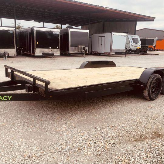 2021 Legacy CAR HAULER 83X18 Car / Racing Trailer