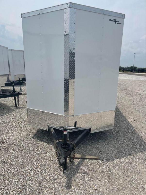"""2021 Texas Select 6X12SA 6'6"""" RAMP DOOR Enclosed Cargo Trailer"""