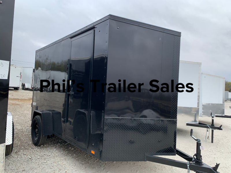 6X12 + 2 v nose  Pace 6'6' interior Cargo / Enclosed Trailer
