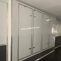 32 ' Continental Cargo WHITE OUT  ELECTRIC AWNING WHEEL WELL CABINET AUTOMASTER Car / Racing Trailer
