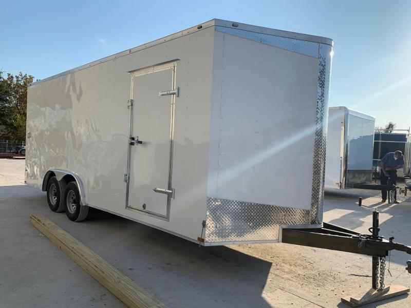 ENCLOSED TRAILER 8.5X24 5200 LB AXLES Enclosed Cargo Trailer