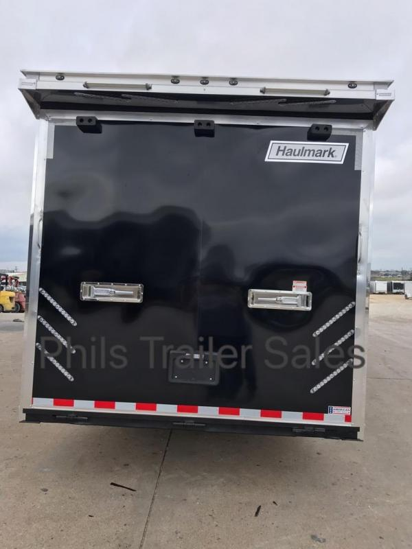 24' Haulmark Edge BLACK ONLY 1 LEFT  ENCLOSED RACE TRAILER  CAR HAULER