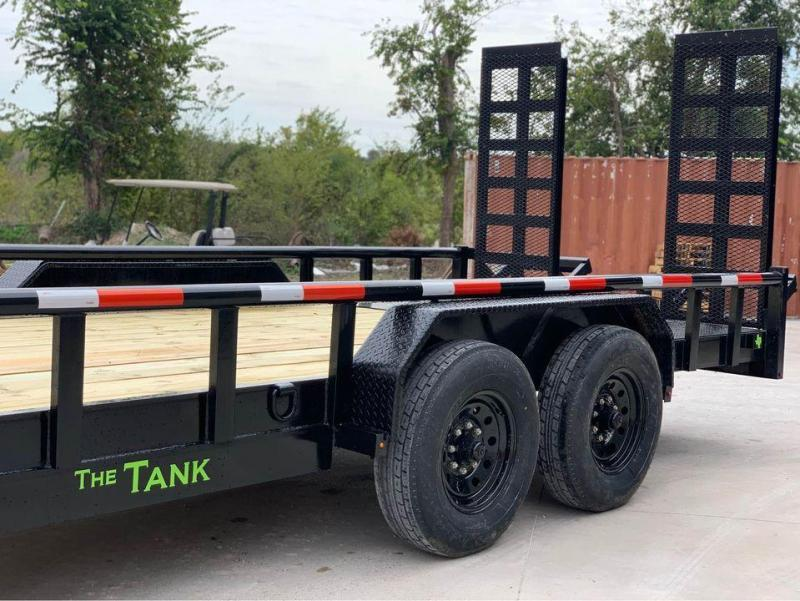 "2021 Legacy EQUIPMENT  TRAILER 83X16 14K "" THE TANK"" Equipment Trailer"