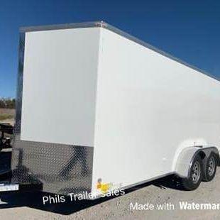 2021  10 YEAR WARRANTY STEEL MOD 5200 LB AXLES Enclosed Cargo Trailer