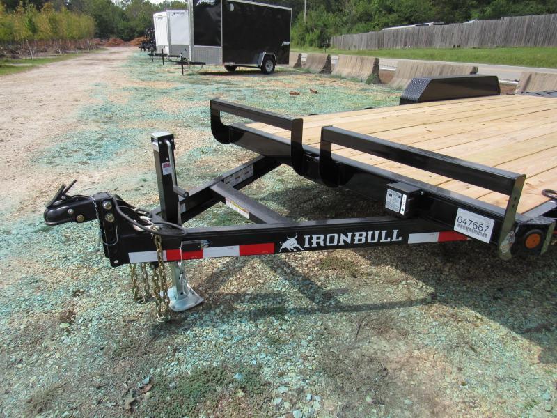 "FOR SALE - 2020 Iron Bull 83"" x 18' Utility Equipment Trailer"