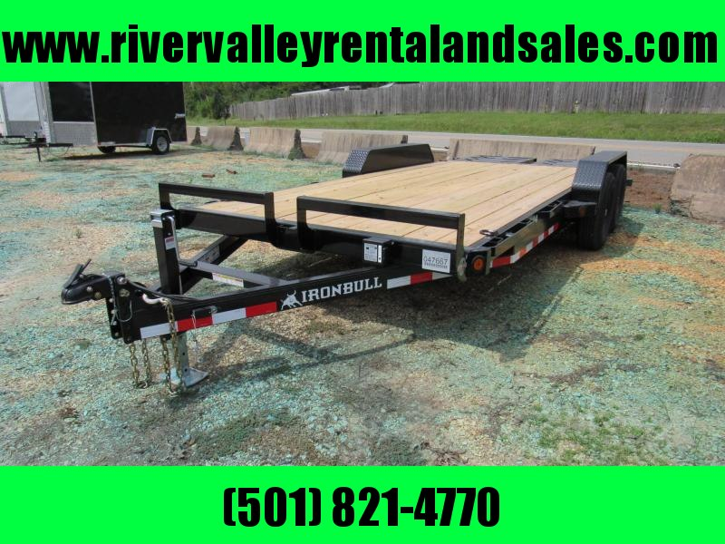 "RENTAL - 2020 Iron Bull 83"" x 18' Utility Equipment Trailer"