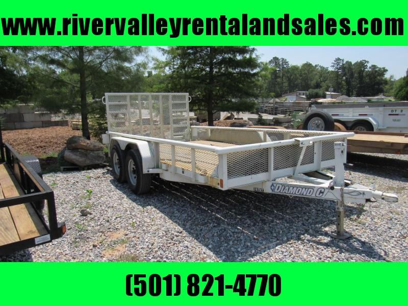 RENTAL - 14' Diamond C Equipment Trailer - FOR RENT