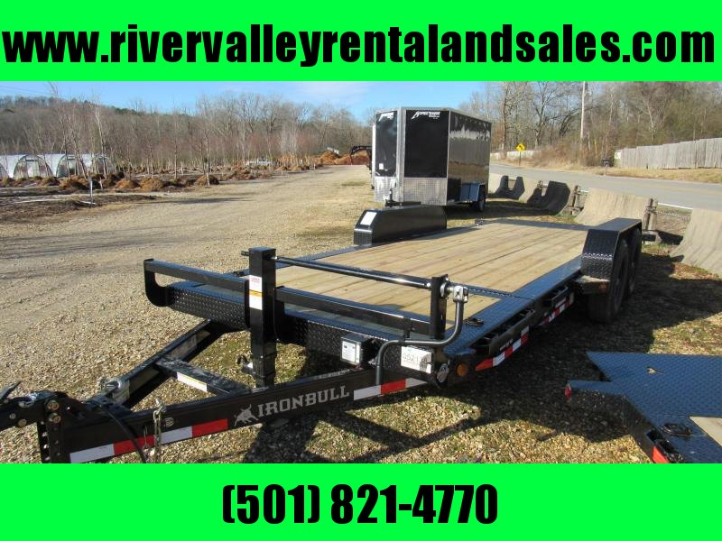 "2020 Iron Bull 83"" x 20' Gravity Tilt Equipment Utility Trailer"