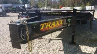 "2017 Traxx 102"" x 25' Pintle Low Pro Tandem Dual Flatbed Trailer"