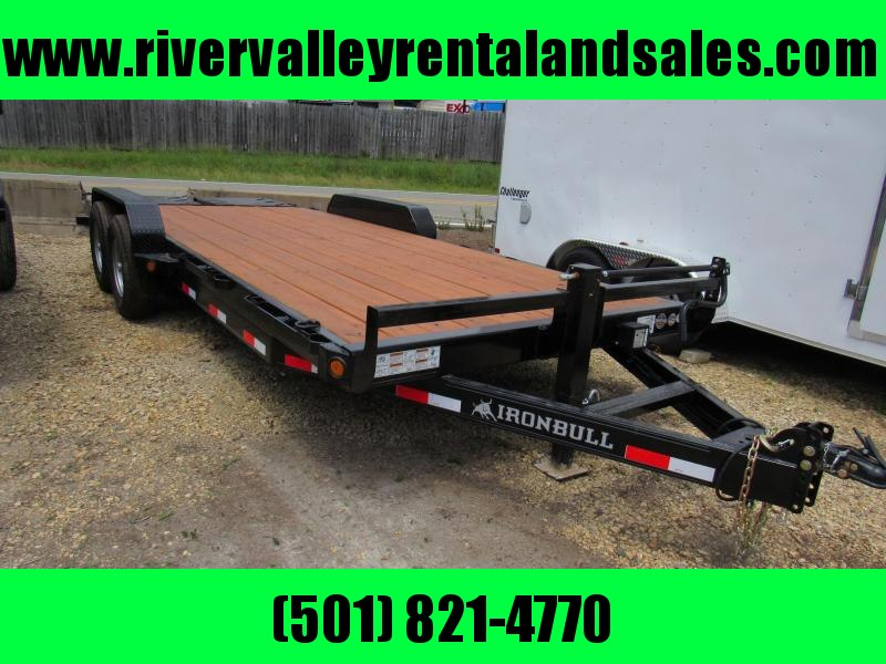 "RENTAL 2019 Iron Bull 83"" x 20' Utility Equipment Trailer RENTAL"