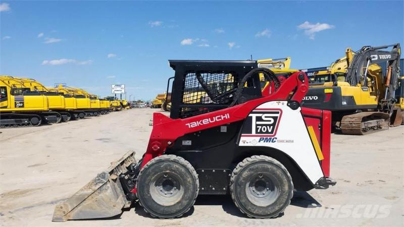 Takeuchi TS70 Skid Steer - FOR RENT
