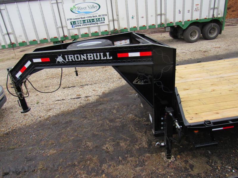 """2020 Iron Bull 102"""" x 28' Gooseneck Utility Trailer"""