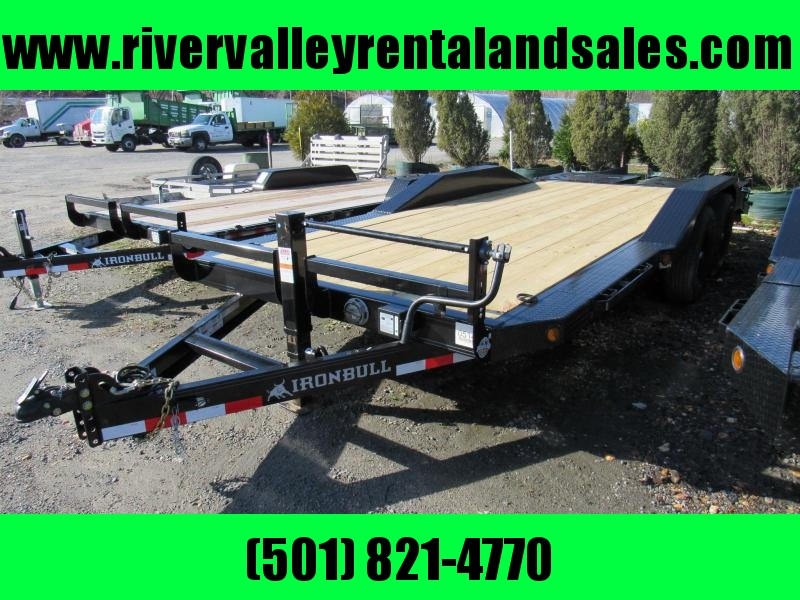 "RENTAL - 2020 Iron Bull 102"" x 20' Equipment Trailer"
