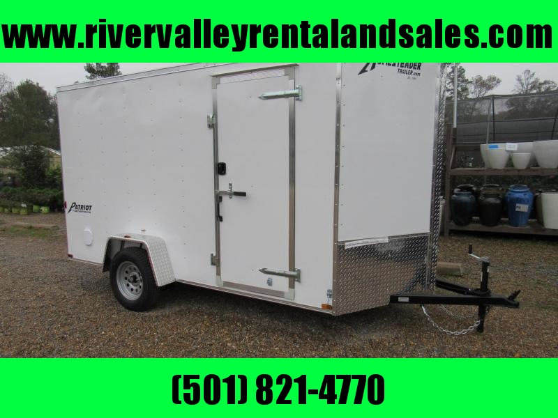 RENTAL - 2017 6'x 12' Homesteader Enclosed Cargo Trailer - FOR RENT
