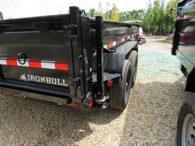 "2020 Iron Bull 83"" x 14' Low Pro Dump Trailer"
