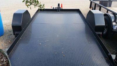 RENTAL #2 - Load Trail 12' x 77 Scissor Tilt Deck - FOR RENT