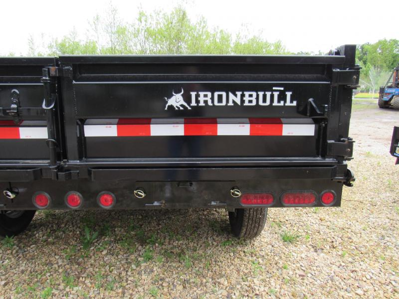 "2020 Iron Bull 96""x14' Dump Trailer"