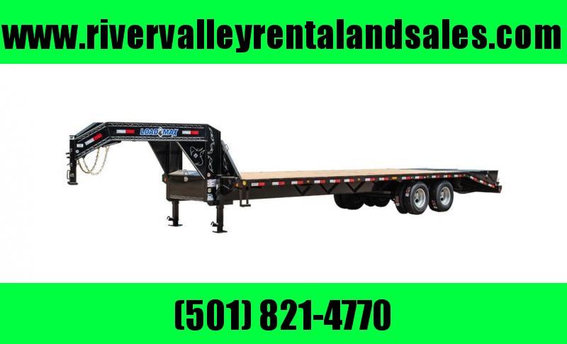 "Rental #14 - 102""x25' Load Trail Gooseneck Equipment Trailer"