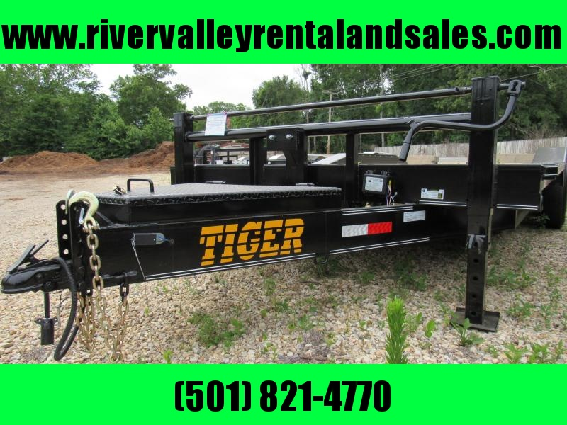 "2018 Tiger 102"" X 20' Equipment Utility Trailer"