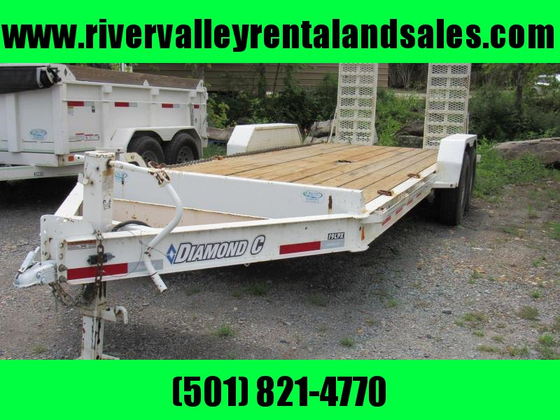 "RENTAL - 2016 19'x 82"" Diamond C Equipment Trailer - FOR RENT"