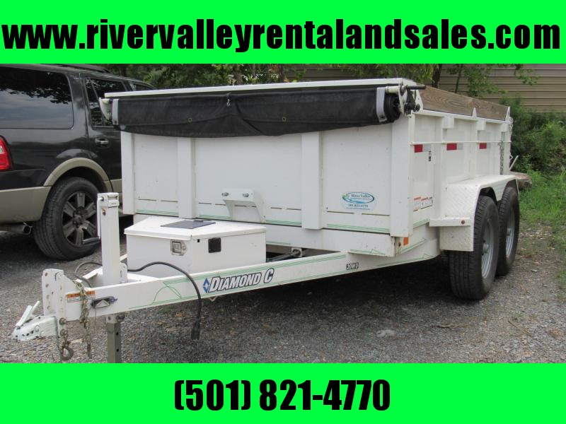 "2016 Diamond C 10' x 83"" Dump Trailer - FOR RENT"