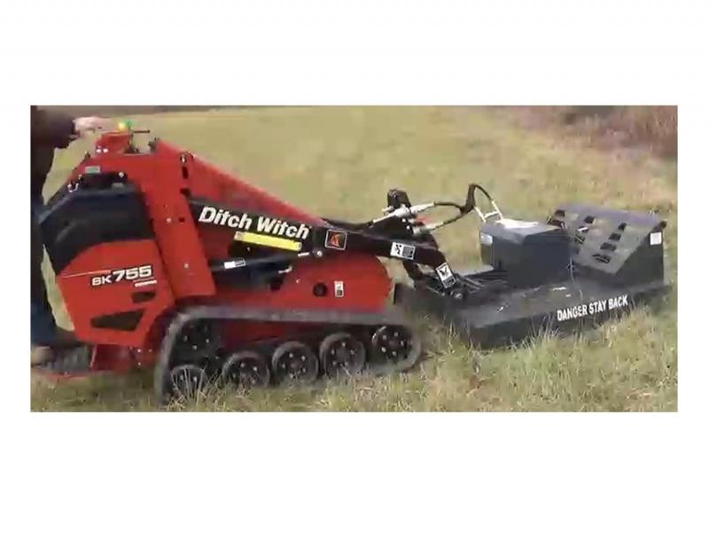 Bush Hog Attachment - 3' for Ditchwitch SK752