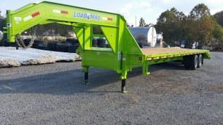 "RENTAL - 2017 Load Trail 32'x 102"" Gooseneck Flatbed Trailer - FOR RENT"