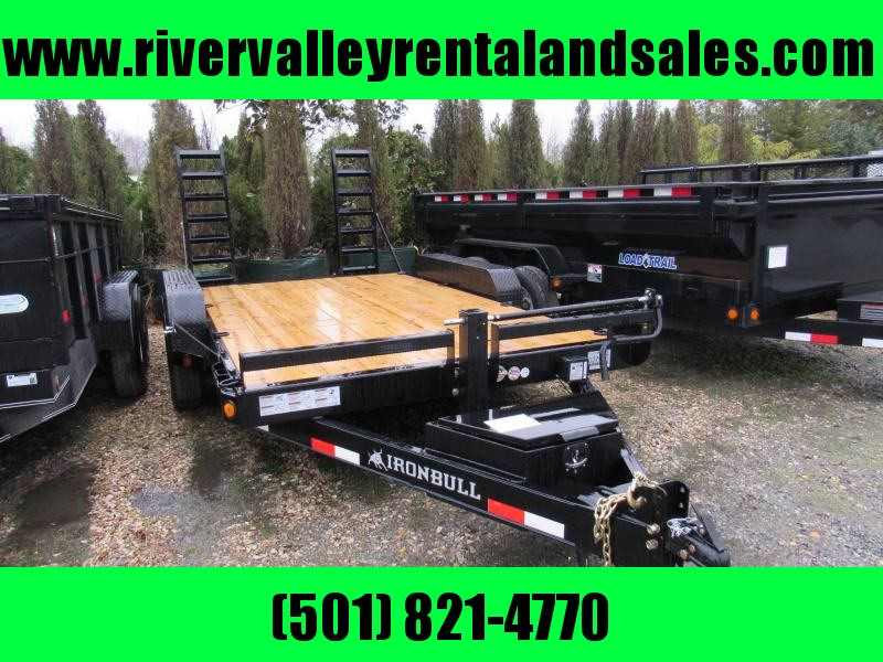 2019 14' x 102' Iron Bull Carhauler Equipment Trailer