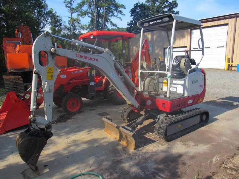 Takeuchi TB216 Mini Excavator