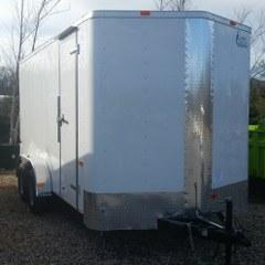 RENTAL - 2017 Cargo Craft 7'x16' Enclosed Cargo Trailer - FOR RENT