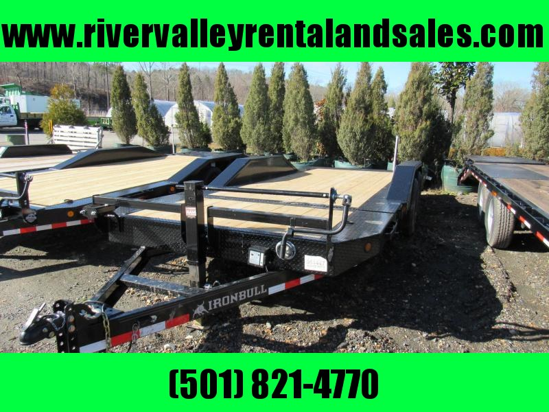 "RENTAL - 2020 Iron Bull 102"" x 20' Gravity Tilt Lo-Pro Equipment Trailer"