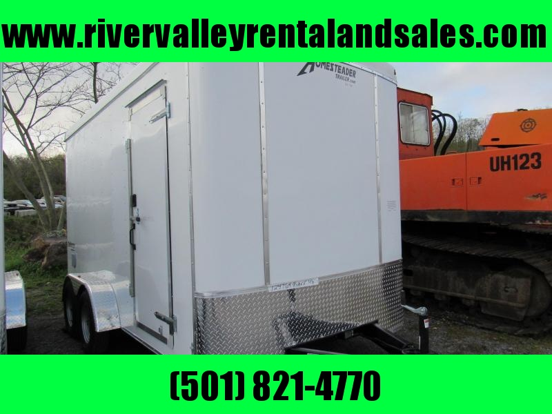 2019 Homesteader 7' X14' Enclosed Cargo Trailer