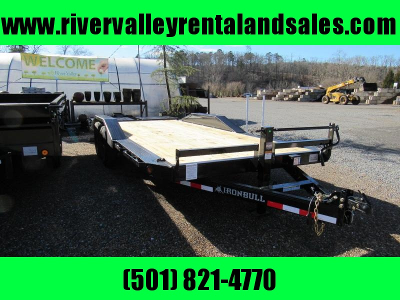 "2020 Iron Bull 102""x20 Equipment Hauler Utility Trailer"