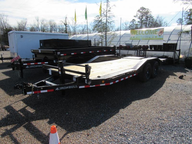 "2020 Iron Bull 102""x20 Equipment Hauler Utility Trailer"