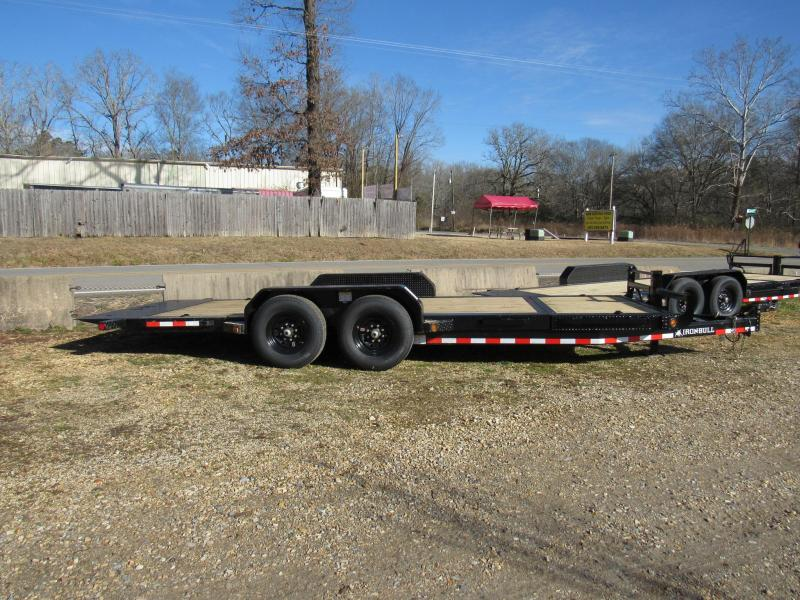 "2020 Iron Bull 83"" x 20' Gravity Tilt Low Pro Equipment Utility Trailer"